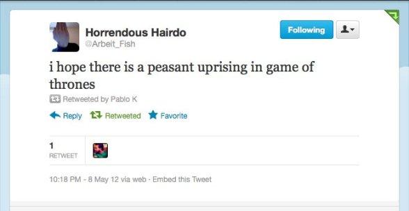Peasant Uprising GOT