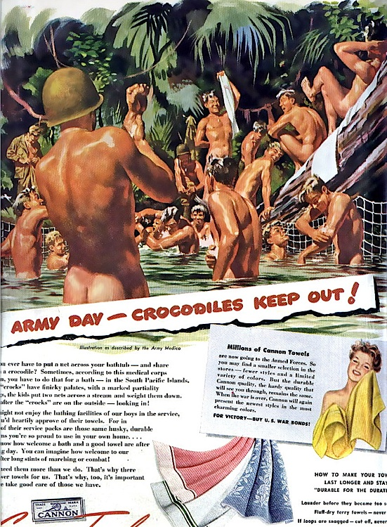 thedisorderofthings.files.wordpress.com/2012/10/cannon-towels-army-day-crocodiles-keep-out-poster.jpg