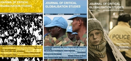 Journal of Critical Globalisation Studies Covers