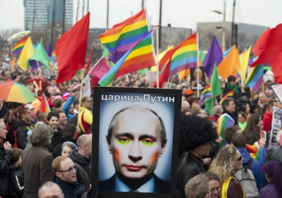 Russia Gay Pride Putin