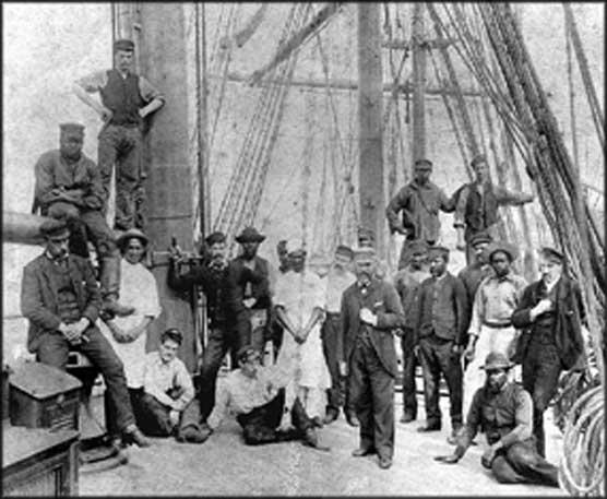 The slave trader - 4 7