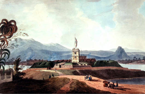 Bencoolen - English Fort and Plantation