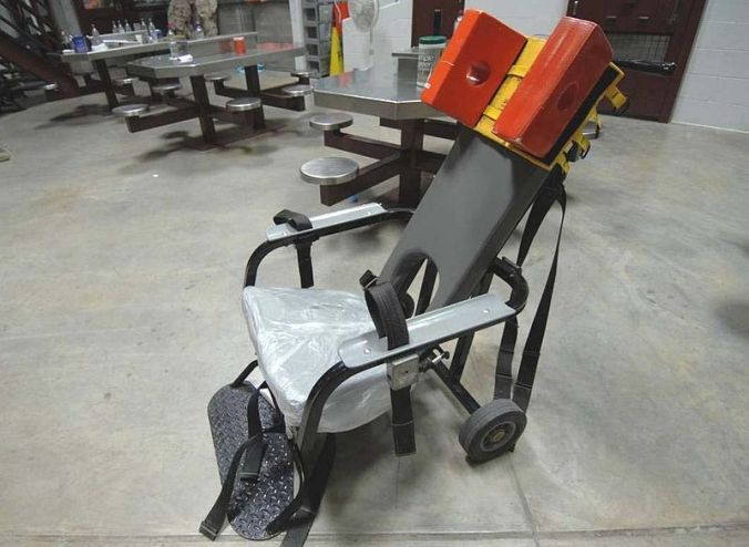 Force Feeding Chair