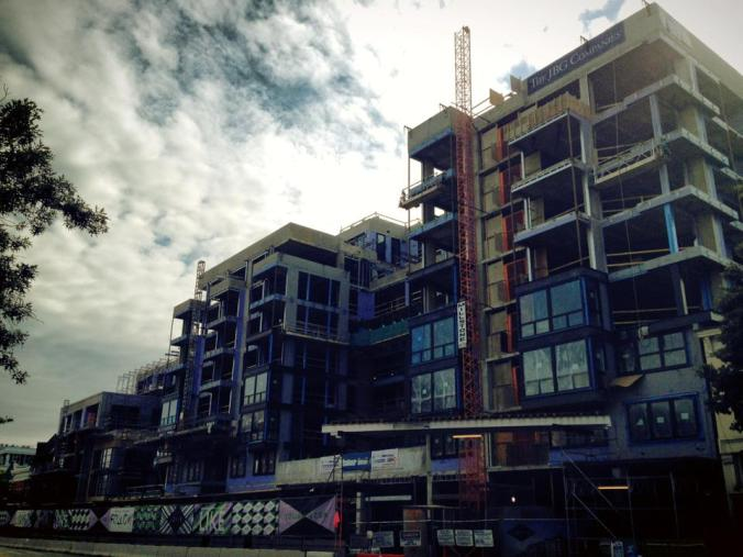One of many new developments in the Shaw area