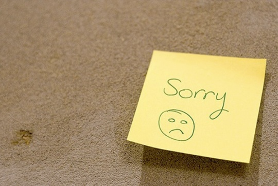 Sorry Post-It