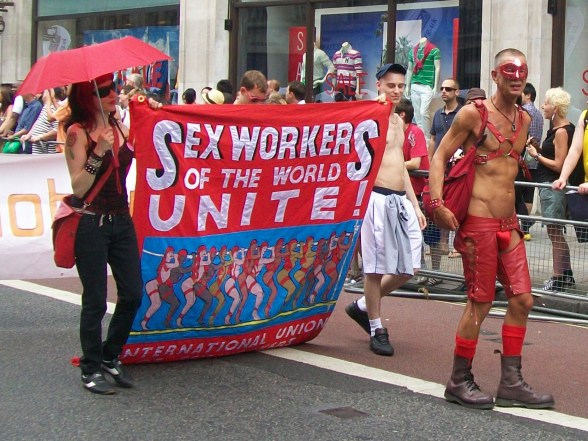 London Pride 2009 - Sex Workers of the World Unite