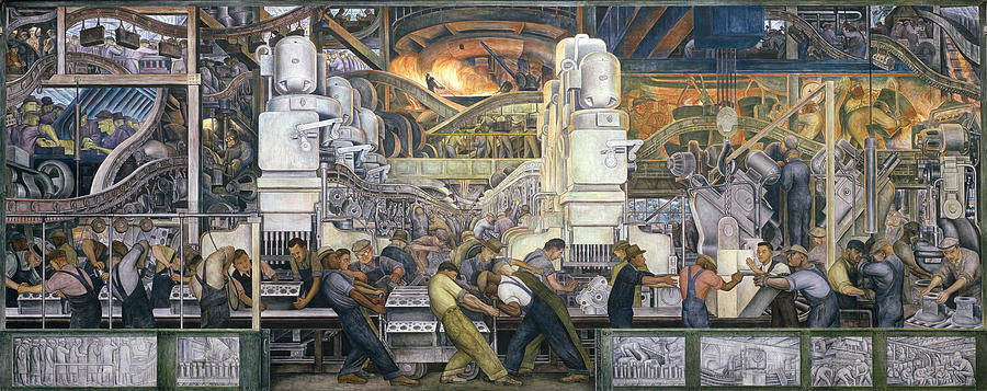Struggling with precarity from more and better jobs to for Diego rivera detroit mural