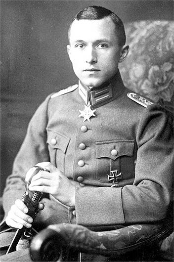 Ernst Jünger in 1919