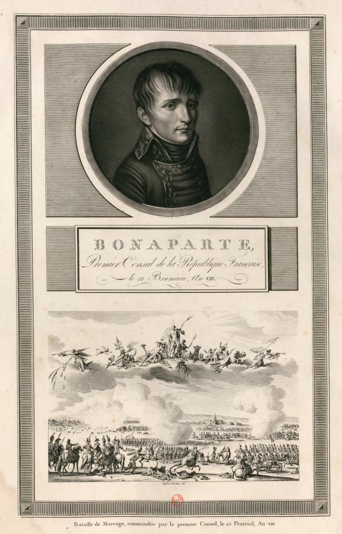 Bonaparte, premier Consul de la Republique française (1802)