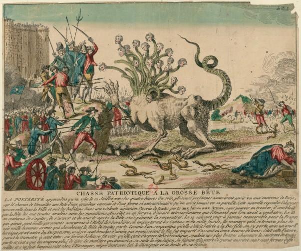 Chasse patriotique à la grosse bête (1789)