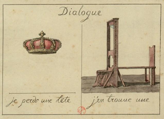 je perds une tête j'en trouve une (1793)