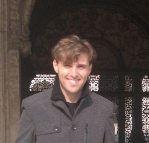Alex at Red Fort