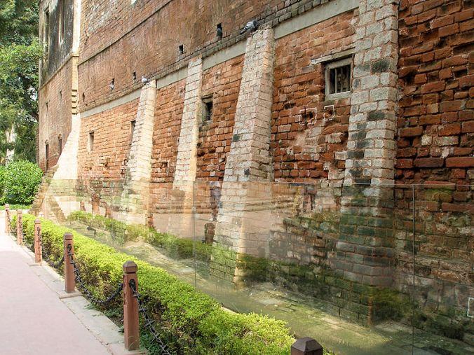 Bullet marks of the Amritsar Massacre, 1919
