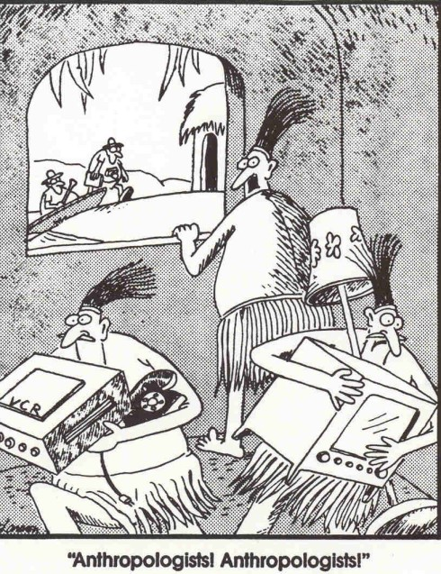 Far Side Anthropologists
