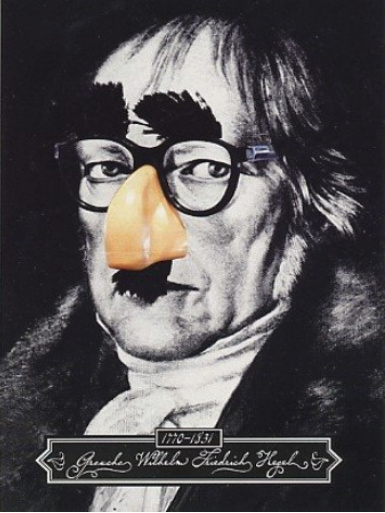Hegel False Nose