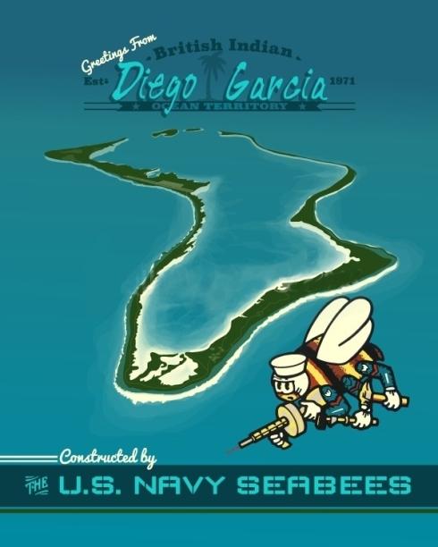 Diego Garcia US Navy SeaBees