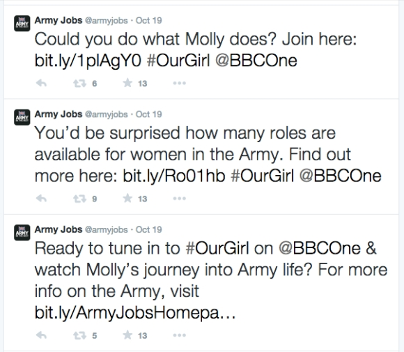 Could You do what Molly Does Army Jobs