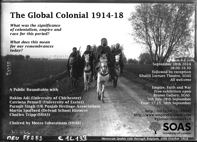 Global Colonial 1914 poster