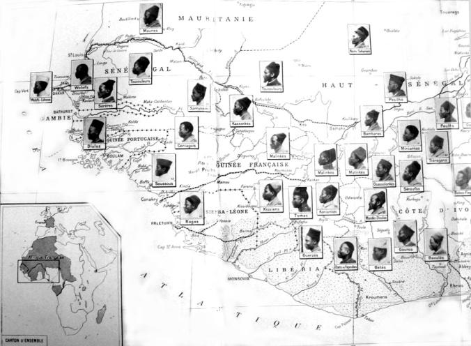 """""""Warrior races"""" of West Africa"""