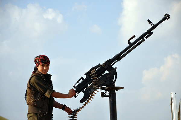 Kobani YPJ Fighter