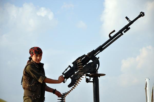 Kobani YPJ Fighter