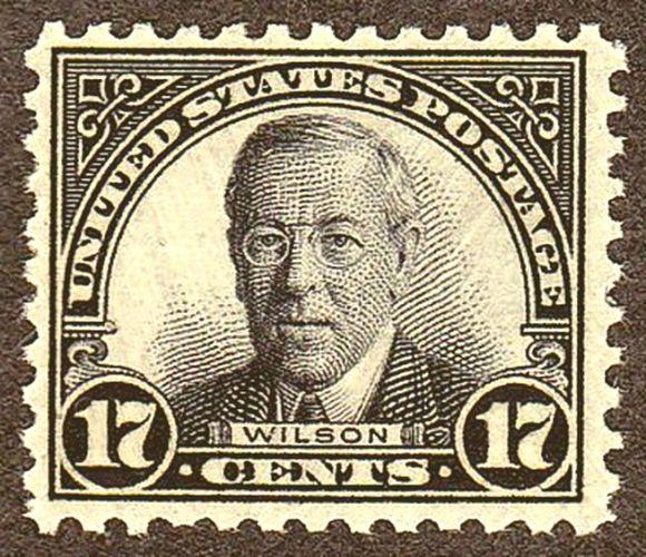 Woodrow Wilson 17c Stamp