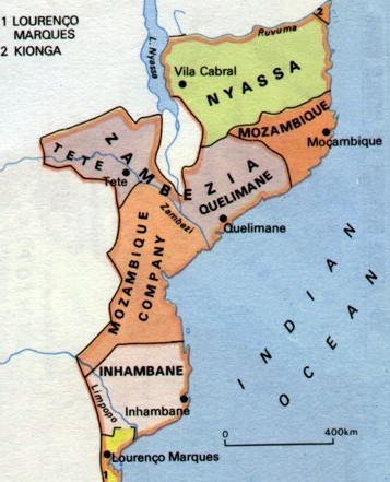 Map of Colonial Companies