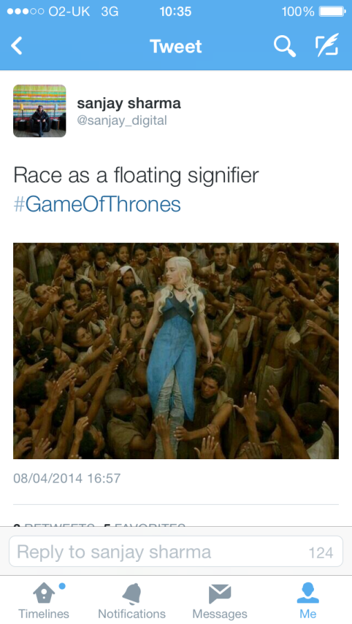 Game of Thrones - Race as a Floating Signifier