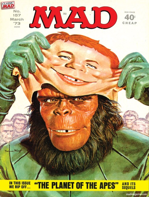 Mad Magazine - Planet of the Apes