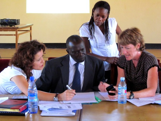 USAID officials and Kamuli District (Uganda) develop the District Operational Plan