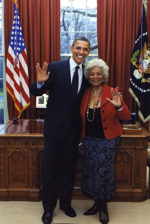 Star Trek - Obama Nichols Uhura