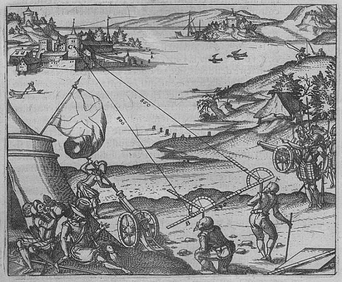 Leonhard Zubler, Novum Instrumentum Geometricum (1607)