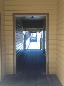 photo of cabins and corridors at Q Station, Sydney