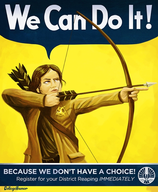 We Can Do It - Hunger Games District Six