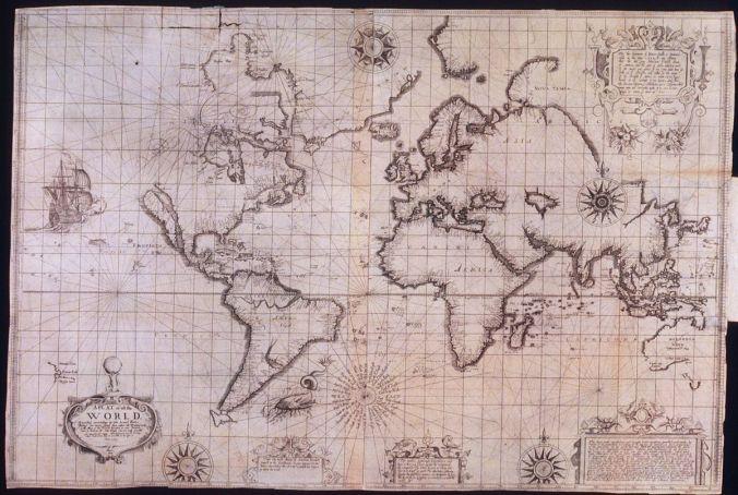 Wright-Molyneux world map (1599)