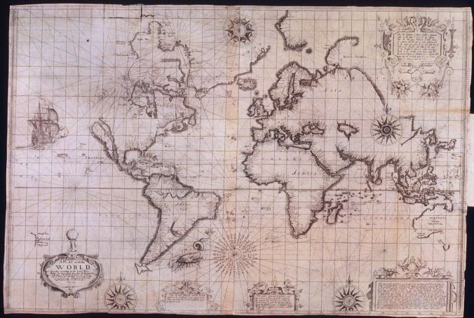Wright-Molyneux world map (1599)