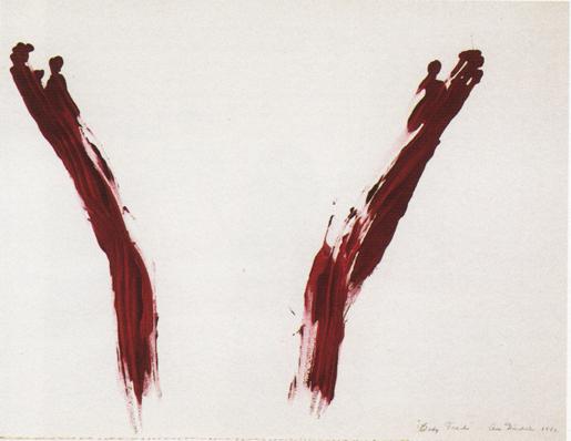 Ana Mendieta, Body Tracks