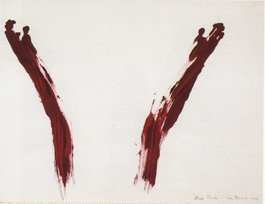 Ana Mendieta, Body Tracks