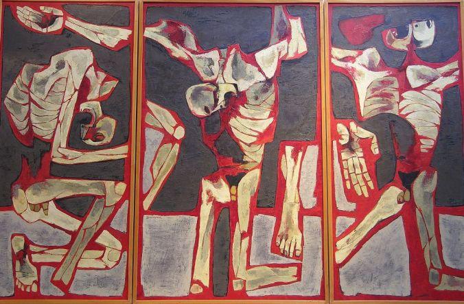 Oswaldo Guayasamín, Los Torturados (1976)