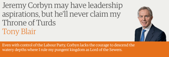 Corbyn - Throne of Turds