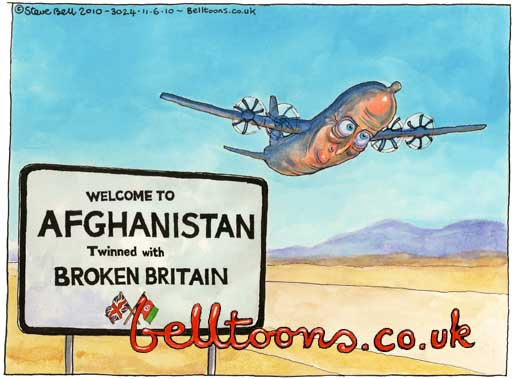 Copyright ©Steve Bell 2010/All Rights Reserved e.mail: belltoons@ntlworld.com tel: 00 44 (0)1273 500664