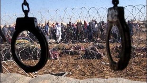 Abu Ghraib Handcuffs
