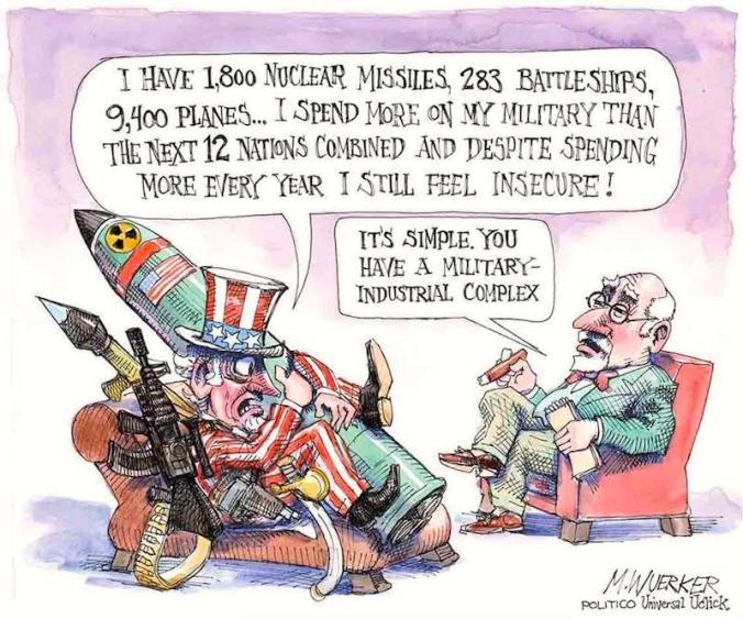 Matt Wuerker, The Military Industrial Complex