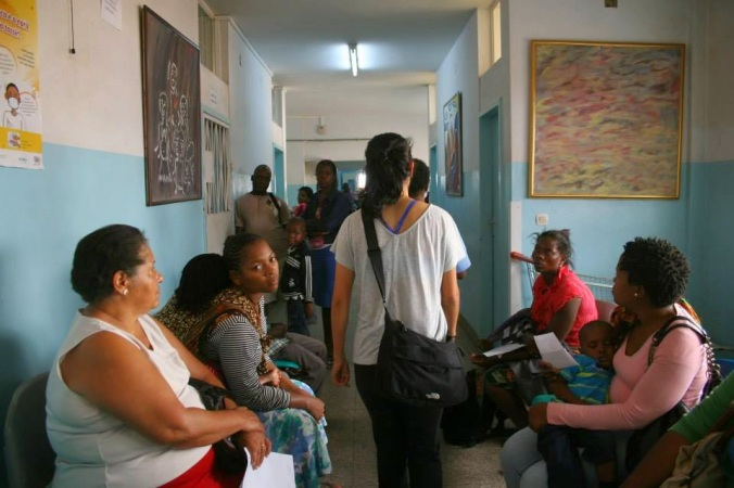 Blog photo in Maputo Central Hospital
