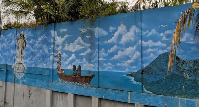 Papuan Mural