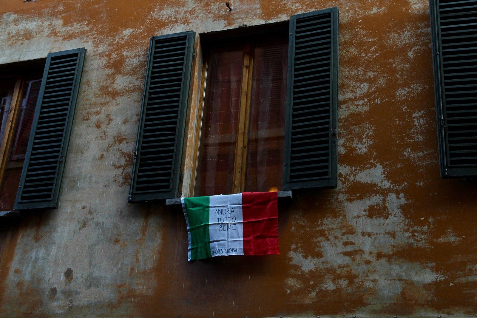 Italian Corona Flag